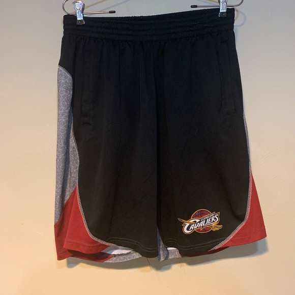 NBA Net Dri Cleveland Cavaliers Basketball Shorts